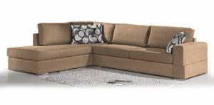 Γωνιακός καναπές Must-Δεξιά-275φ 210β εκ.-Sand