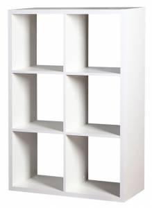 Βιβλιοθήκη Clever 6s-Λευκό