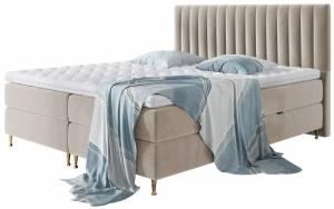 Επενδυμένο κρεβάτι Elegance-Mpez-140 x 200 εκ.