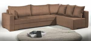 Γωνιακός καναπές Trendy-Αριστερή-285φ 185β εκ.-MInk