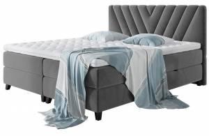Επενδυμένο κρεβάτι Romantic-140 x 200 εκ.-Gkri