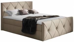Επενδυμένο κρεβάτι Crystal Lux-Mpez-160 x 200 εκ.