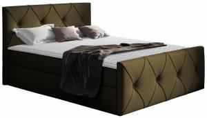 Επενδυμένο κρεβάτι Crystal Lux-Ladi-120 x 200 εκ.