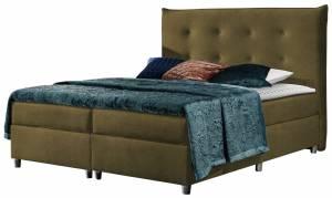 Επενδυμένο κρεβάτι Prato-Ladi-160 x 200 εκ.