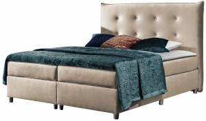 Επενδυμένο κρεβάτι Prato-Mpez-160 x 200 εκ.