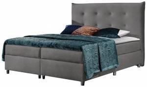 Επενδυμένο κρεβάτι Prato-Gkri-140 x 200 εκ.