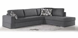Γωνιακός καναπές Must-Αριστερή-295φ 230β εκ.-Γκρι