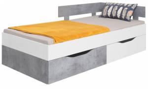 Κρεβάτι Sigma-Gkri-Leuko-200 x 90
