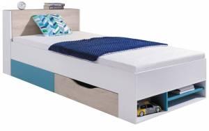 Κρεβάτι Planet-Leuko - Drus - Navy blue