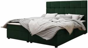 Επενδυμένο κρεβάτι Wall-Prasino-160 x 200