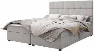 Επενδυμένο κρεβάτι Wall-Gkri Anoixto-160 x 200