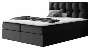 Επενδυμένο κρεβάτι Rico-140 x 200-Mauro