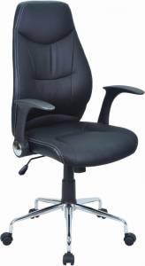 Καρέκλα διευθυντική Ronta-Μαύρο