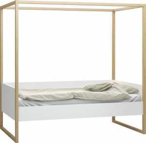Καναπές - Κρεβάτι 4 You με ουρανό-Λευκό