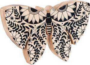 Φιγούρα διακόσμησης Butterfly White