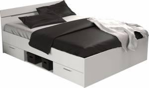 Κρεβάτι Ohio-Λευκό-140 x 200