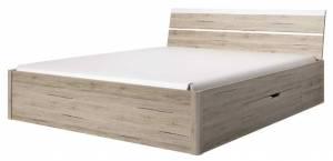 Κρεβάτι Delta Plus-Δρυς-160 x 200