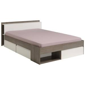 Κρεβάτι Tour-Καρυδί-140 x 200