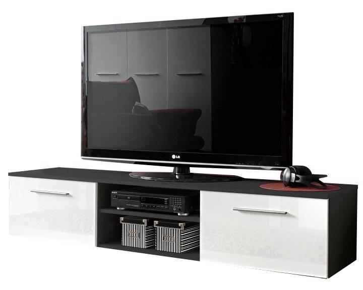 Βάση Τηλεόρασης Bono II-Μαύρο - Λευκό