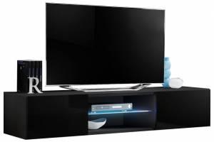 Κρεμαστό έπιπλο τηλεόρασης Fly I-Μαύρο