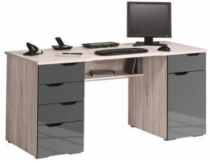 Γραφείο Mebel-Φυσικό - Γκρι