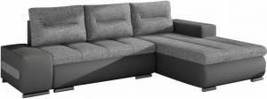 Γωνιακός καναπές Otto-Δεξιά-Γκρι Ανοιχτό