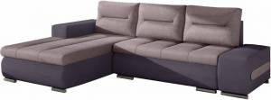 Γωνιακός καναπές Otto-Λιλά - μωβ-Αριστερή