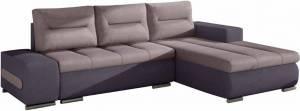 Γωνιακός καναπές Otto-Λιλά - μωβ-Δεξιά