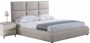 Επενδυμένο κρεβάτι Karen