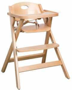 Καρέκλα φαγητού Bill-Φυσικό