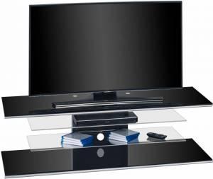 Έπιπλο τηλεόρασης Ruben-Μαύρο