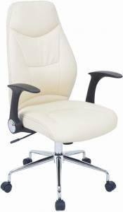 Καρέκλα διευθυντική Ronta-Λευκό - Μαύρο