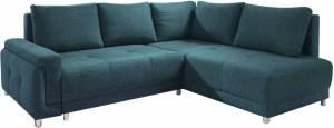 Γωνιακός καναπές Brandon-Αριστερή-Πετρόλ