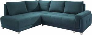 Γωνιακός καναπές Brandon-Δεξιά-Πετρόλ