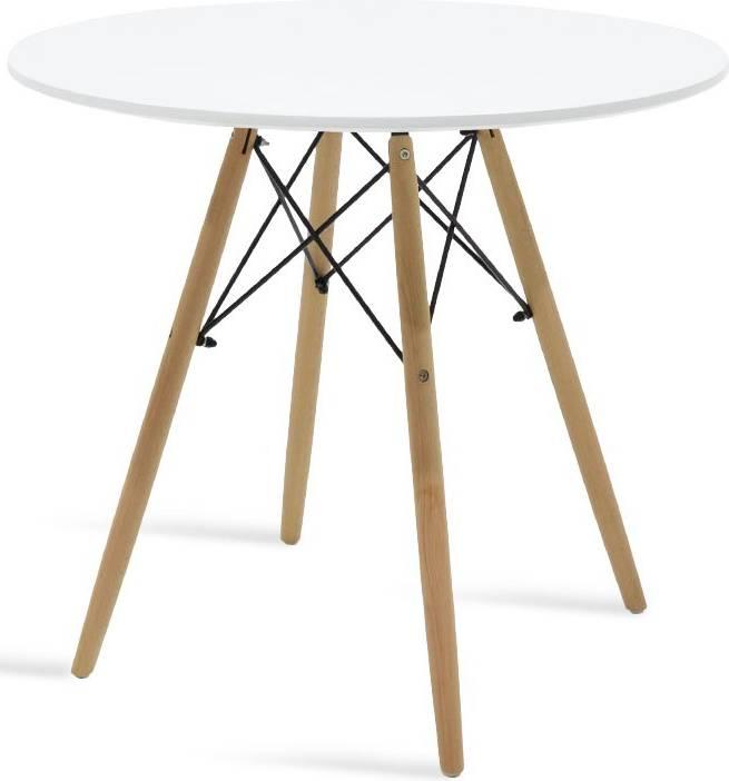 Τραπέζι Fiorino Round-Λευκό