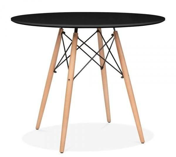 Τραπέζι Fiorino Round-Μαύρο