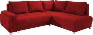 Γωνιακός καναπές Brandon-Αριστερή-Κόκκινο