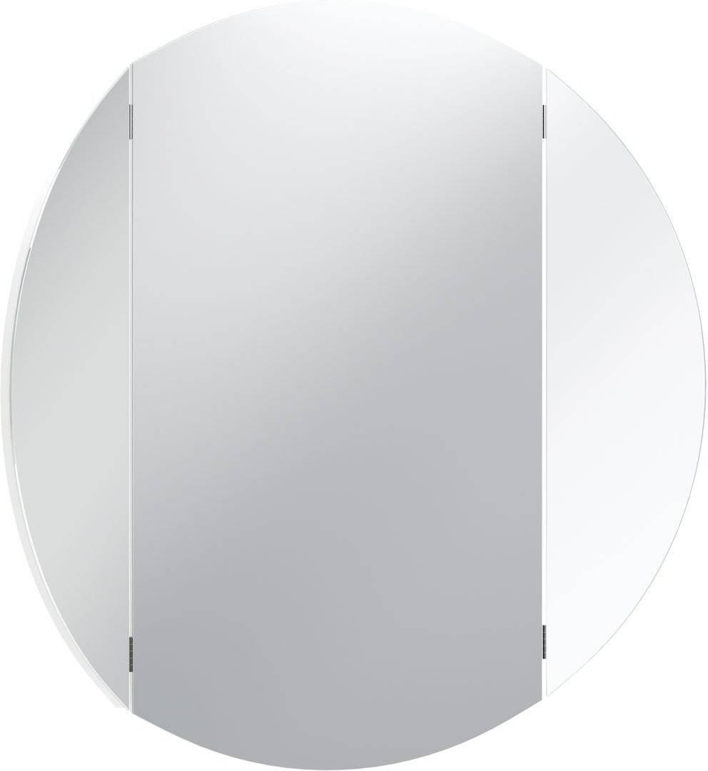 Καθρέπτης Simple Round-Λευκό