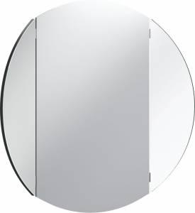 Καθρέπτης Simple Round-Μαύρο