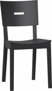 Καρέκλα Simple-Μαύρο