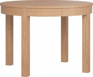 Τραπέζι Simple Round επεκτεινόμενο-Φυσικό