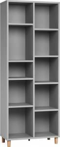 Βιβλιοθήκη Simple 2x5-Γκρι