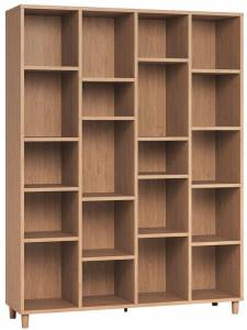 Βιβλιοθήκη Simple 4x5-Φυσικό