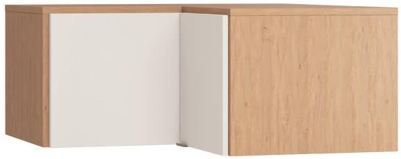 Πατάρι γωνιακής ντουλάπας Simple-Φυσικό - Λευκό