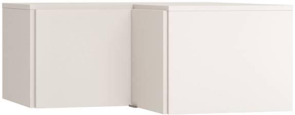 Πατάρι γωνιακής ντουλάπας Simple-Λευκό