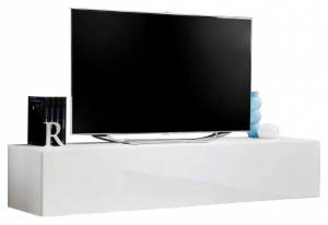 Κρεμαστό έπιπλο τηλεόρασης Fly IV-Λευκό