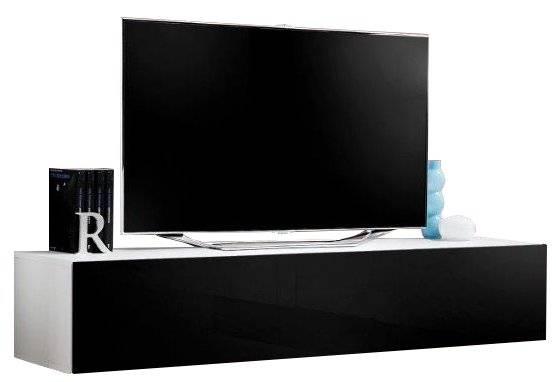 Κρεμαστή βάση τηλεόρασης Fly IV-Μαύρο - Λευκό