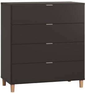 Συρταριέρα Simple-Μαύρο