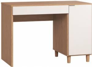Γραφείο Simple 110-Φυσικό - Λευκό