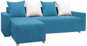 Γωνιακός καναπές Odette-Γαλάζιο